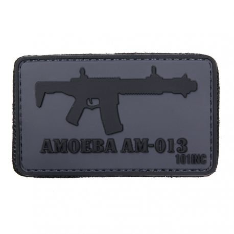 101 INC Patch 3D PVC Amoeba AM-013 (101 Inc) AC-WP4441304057 Patch en PVC