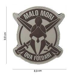 Grauer 3D-PVC-Patch Malo Mori Grau (101 Inc)