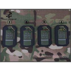 Parche de granada 3D Pvc M18 verde (Emerson)