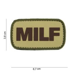 101 INC Patch 3D PVC MILF OD AC-WP4441003772 Patch en PVC