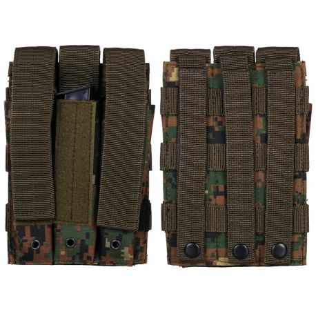 101 INC Poche Chargeur MP5 (x3) Marpat (101 Inc) AC-WP359804MP Poche Molle
