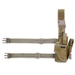 Holster Cuisse Desert Modulable (101 Inc)