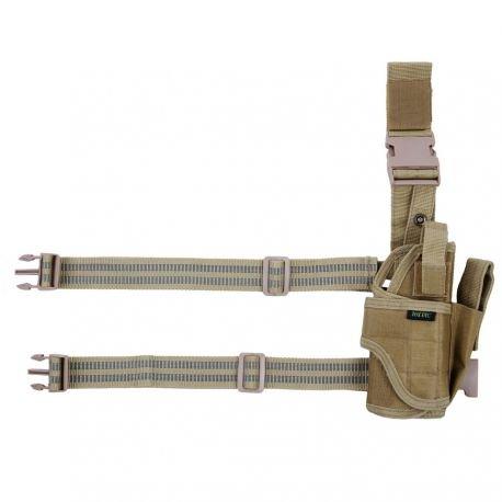 101 INC Holster Cuisse Desert Modulable (101 Inc) AC-WP355436DE Holster