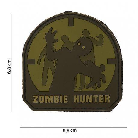 101 INC Patch 3D PVC Zombie Hunter OD & Noir (101 Inc) AC-WP4441103578 Patch en PVC