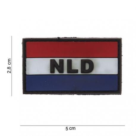 101 INC Patch 3D PVC Hollande (101 Inc) AC-WP4441203546 Patch en PVC