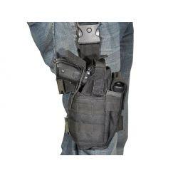 Fondina gamba dritta nera (Swiss Arms 603623)