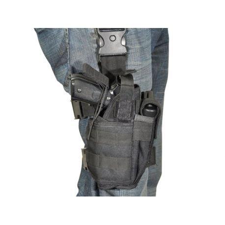 CYBERGUN Holster de cuisse Droitier Noir (Swiss Arms 603623) AC-CB603623 Holster