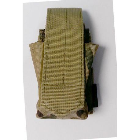 101 INC Poche Grenade Frag Multicam (101 Inc) AC-WP359806MC Poche Molle