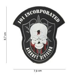 "Patch 3D PVC ""Airsoft Division"" (101 Inc)"