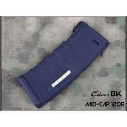 Cargador M4 PMAG 120 Bolas Negro (Emerson)