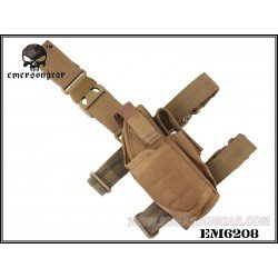 Holster Thigh Coyote Left Hand (Emerson)