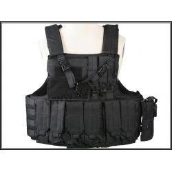 Ciras Gen2 mit 6 Taschen + 1 schwarzer QD-Riemen (Emerson)
