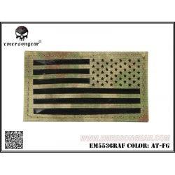 Emerson Emerson Patch Tissu Drapeau USA A-Tacs FG Droitier AC-EMEM5536LA2 Patch en tissu
