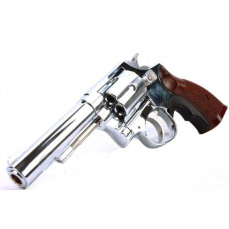 replique-Revolver Gaz M10 Chrome (HFC HG131C1) -airsoft-RE-HFHG131C1