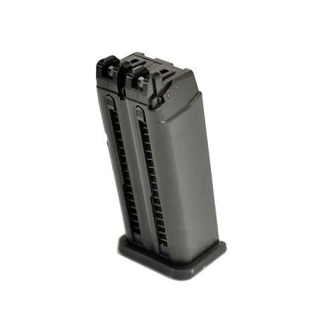 WE Chargeur Gaz G17 / G18 Dueller (WE) AC-WEGGB0502M Chargeur GBB GAZ
