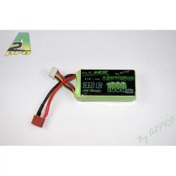 Black Lithium LiPo 11.1V 1000 mAh 35C