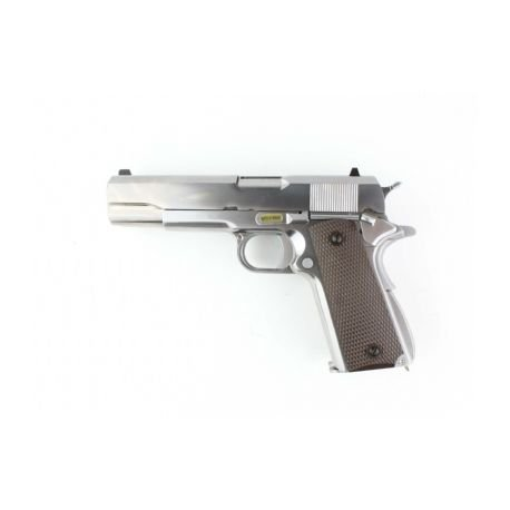 replique-WE 1911 Dueller Argent Gaz -airsoft-RE-WEGGB0399TS