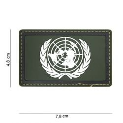 Patch 3D in PVC bianco ONU e OD (101 Inc)