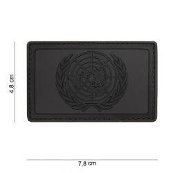 Patch 3D PVC ONU Noir & Gris (101 Inc)