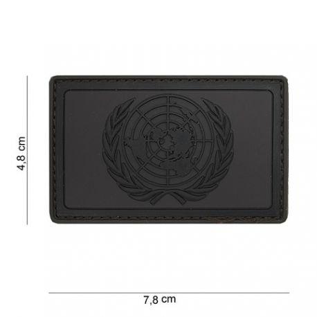 101 INC Patch 3D PVC ONU Noir & Gris (101 Inc) AC-WP4441104053 Patch en PVC