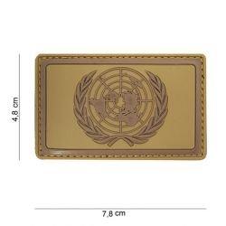 Parche de PVC 3D del desierto de la ONU (101 inc)