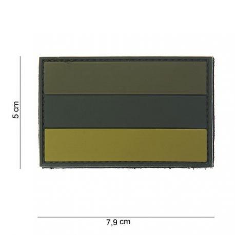 101 INC Patch 3D PVC Drapeau Russie OD (101 Inc) AC-WP4441303797 Patch en PVC