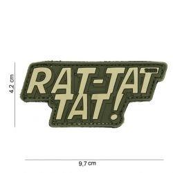 Patch 3D PVC Rat-tat tat OD (101 Inc)