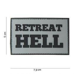 Patch PVC Retreat Hell Gris (101 Inc)