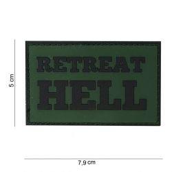 PVC Retreat Hell Patch Parche (101 Inc)