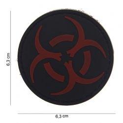 3D PVC Resident Evil Patch Rosso e Nero (101 Inc)