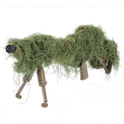 "101 INC Ghillie pour Fusil \""Leaf Green\\"" HA-WP469275LG Uniformes"