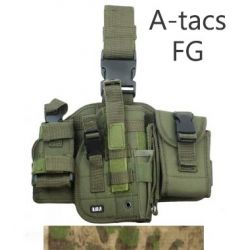 101 INC Holster Cuisse A-Tacs FG Gaucher (101 Inc) AC-WP355461AFG Holster