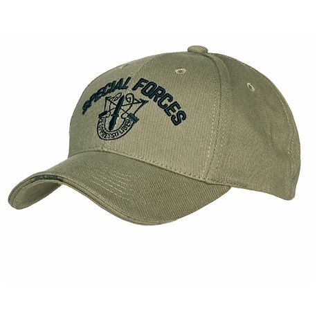 101 INC Casquette Baseball Special Forces OD (101 Inc) HA-WP215150218OD Uniformes