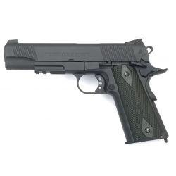 CYBERGUN KWC Colt 1911 Schiene, schwarze Co2-Pistole (Swiss Arms 180524) RE-CB180524 GBB-Replikate