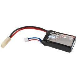 ASG Batería LiPo 7.4v PEQ 1000mAh Amoeba (ASG 17462) AC-AS17462 Batería LiPo 7.4v