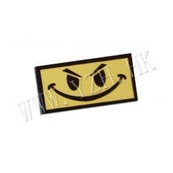 Lustiger gelber PVC-Patch (Emerson)