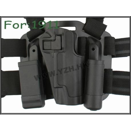 Emerson Holster Cuisse CQC Noir M1911 (Emerson) AC-EMBD6091 Holster