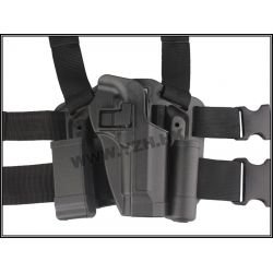 Emerson Holster Cuisse CQC Noir M9 (Emerson) AC-EMBD6093 Holster
