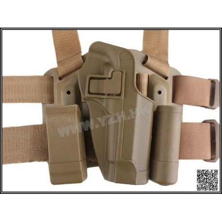 Emerson Holster Cuisse CQC Desert M9 (Emerson) AC-EMBD6094 Holster