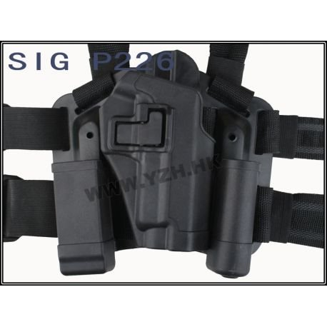 Emerson Holster Cuisse CQC Noir P226 (Emerson) AC-EMBD6092 Holster
