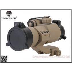 Emerson Point Rouge & Vert M2 / 30mm Desert (Emerson) AC-EMEM1367A Red Dot / Point rouge