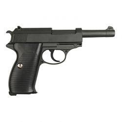 Arma de resorte de metal Walther P38 (Galaxy G21)