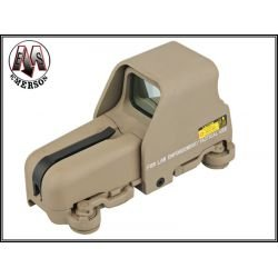 Emerson Emerson Holosight type Eotech 553 Desert AC-EMBD5013 Red Dot / Point rouge