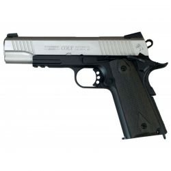 CYBERGUN KWC Colt 1911 Schiene Bi-Ton Co2-Pistole (Swiss Arms 180531) RE-CB180531 GBB-Replikate