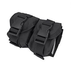 Grenade Frag pocket (x2) Black (Fidragon)