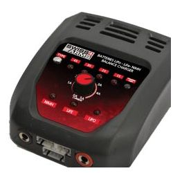 Caricabatterie CYBERGUN NiMh / LiPo / LiFe (Swiss Arms 603368) Caricabatterie AC-CB603368