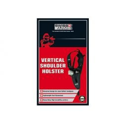 CYBERGUN Holster Hombro Negro Vertical (Swiss Arms 603613) AC-CB603613 Holster