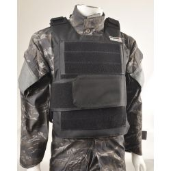 Gilet Tacticle Pare Balle Noir (Swiss Arms 604031)