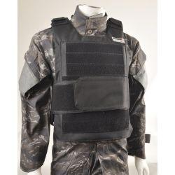Gilet Tactique Pare Balle Noir (Swiss Arms / GFT)