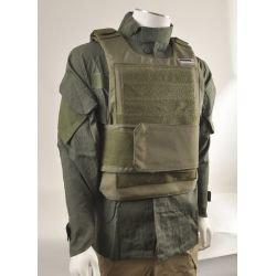 CYBERGUN Gilet Tacticle Pare Balle OD (Swiss Arms 604032) AC-CB604032 Gilet de Combat